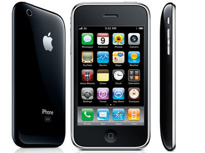 iPhone 3Gs odklep in servis